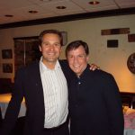 Tom Breitling and Bob Costas