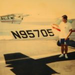 Tom Breitling with Plane